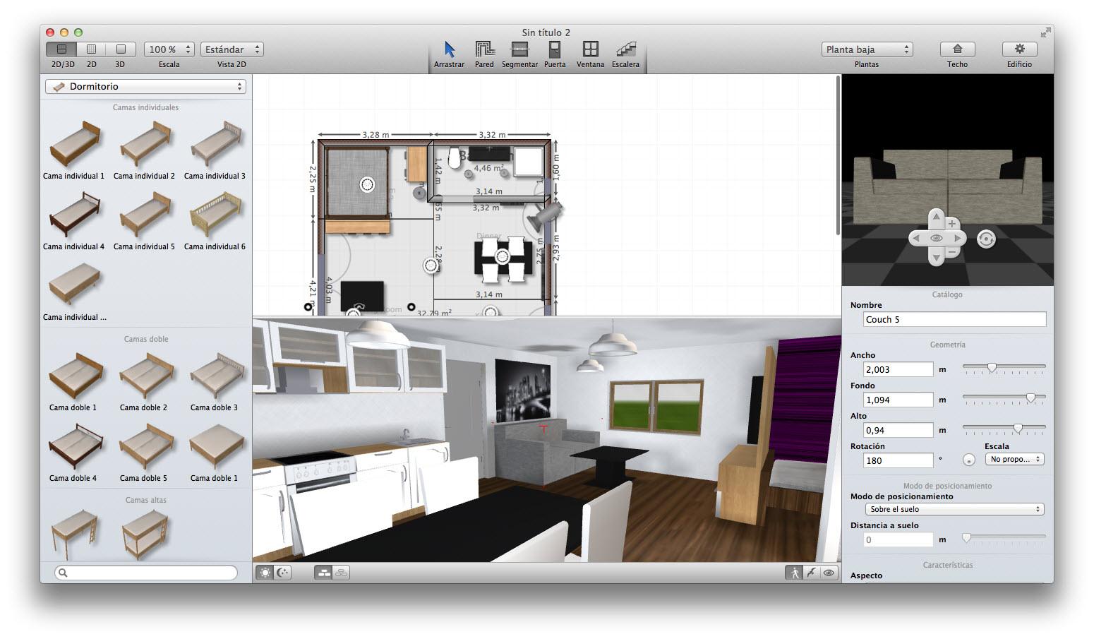 Myfourwalls Para Mac Descargar ~ Programa De Diseño De Interiores Gratis En Español