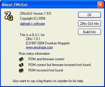 ZINC GUI