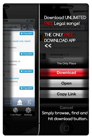 free mp3 download for iphone mp3 downloader free para iphone 16961