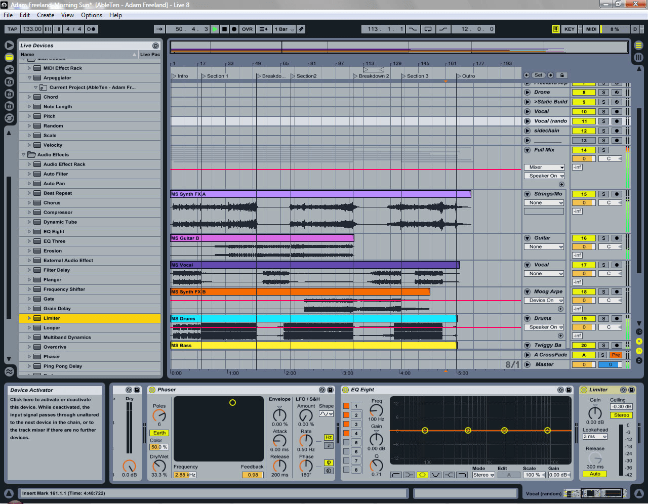 ableton live windows xp