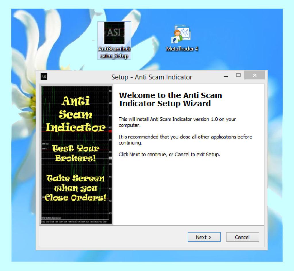 Anti Scam Indicator for MetaTrader 4