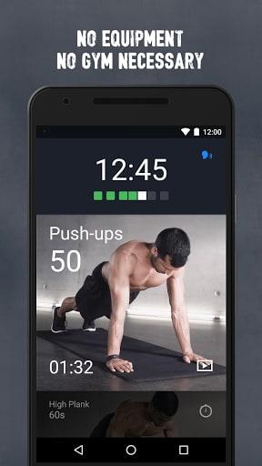 Runtastic Results Training App