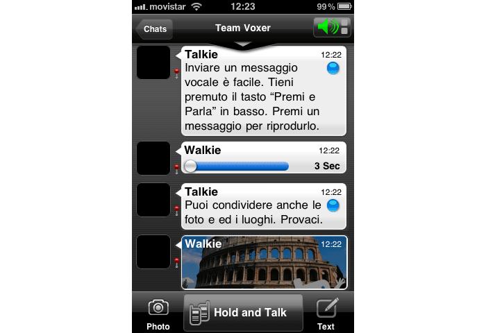 Voxer Walkie-Talkie PTT