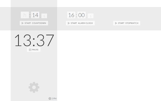 Timer for Chrome