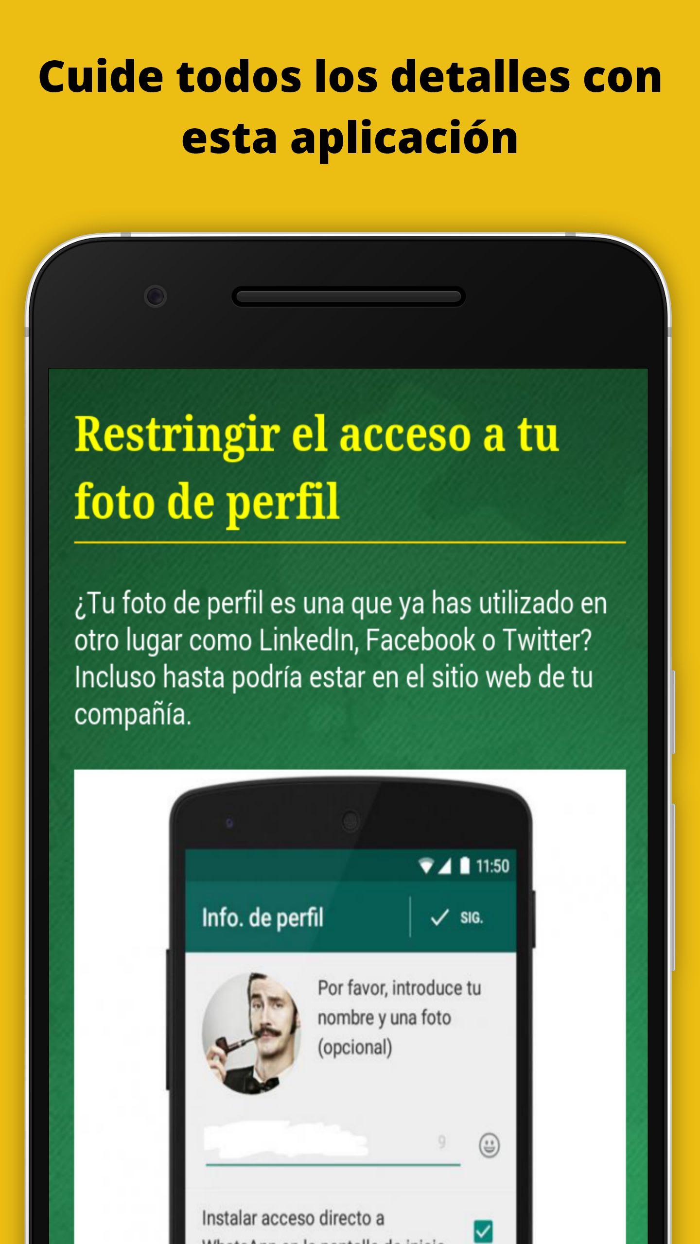 Trucos Seguridad para Whatsapp