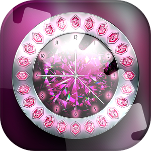 Crystal Clock Live Wallpaper 1.1