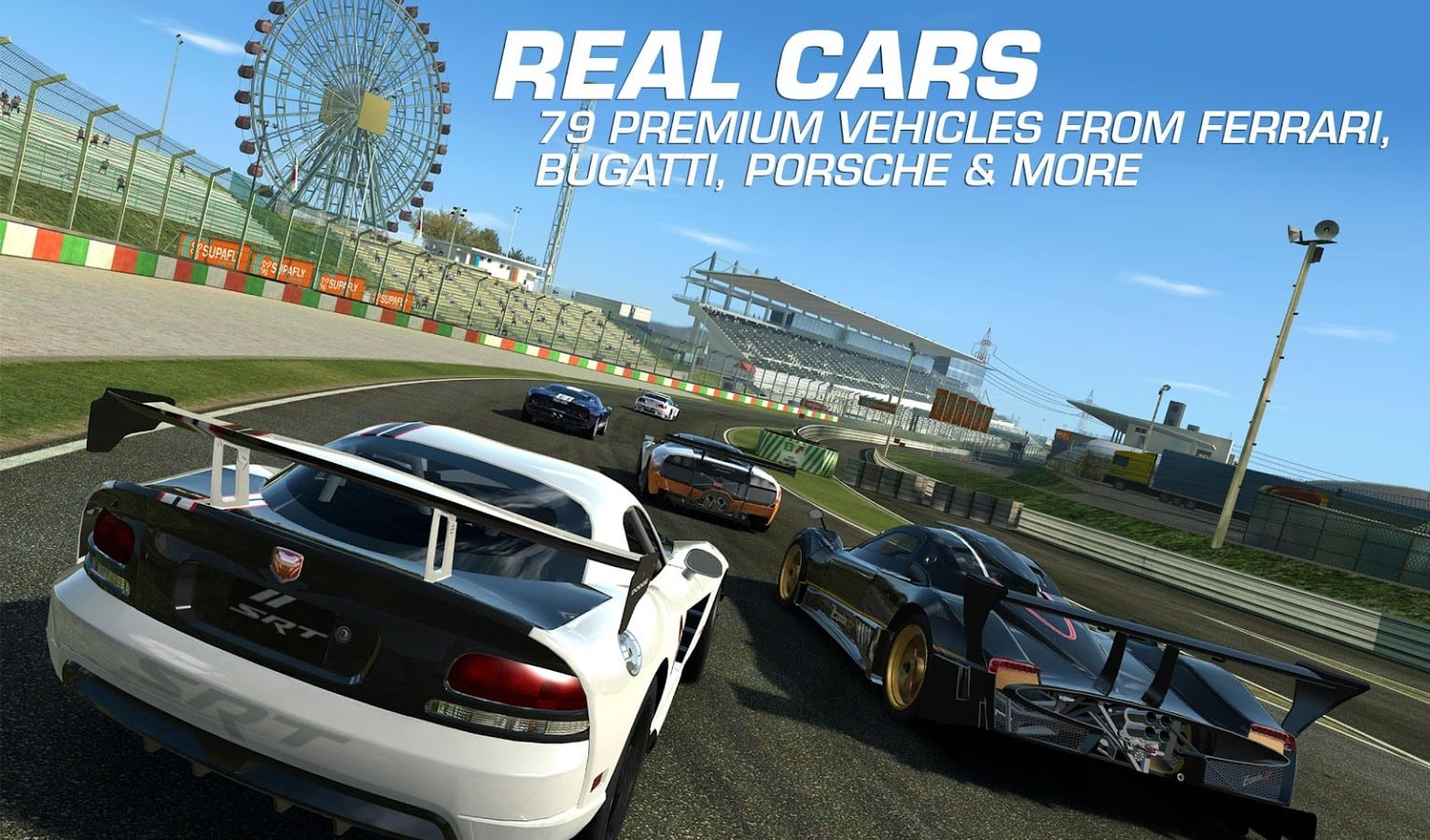 Android gets a poorly ported version of the game that relies on the newest devices to look as good as ios view full description real racing 3