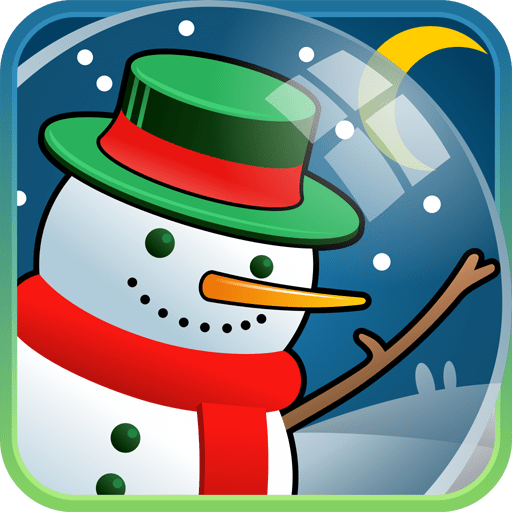 Frosty Snowman Live Wallpaper
