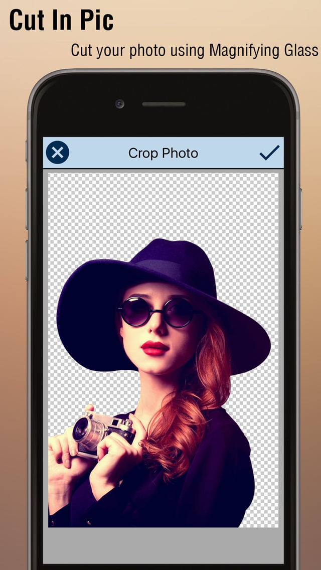 Cut Me In Picture - Photo Background Changer so that you can change backgrounds in the image!