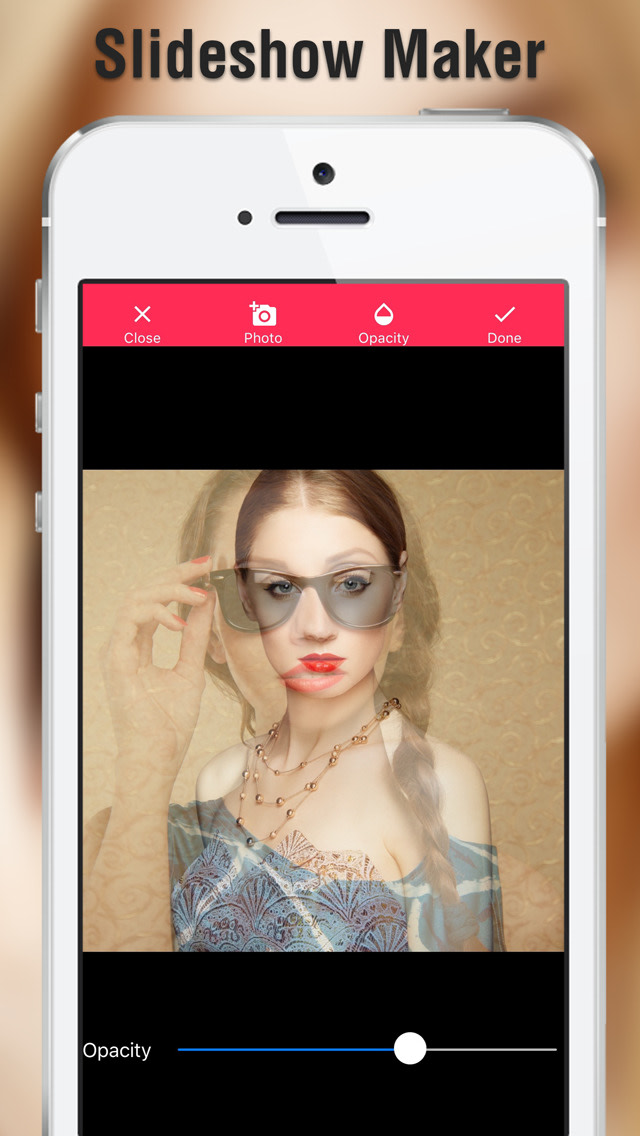 Photo Slideshow Maker - With this video maker, you can also add music to slide show