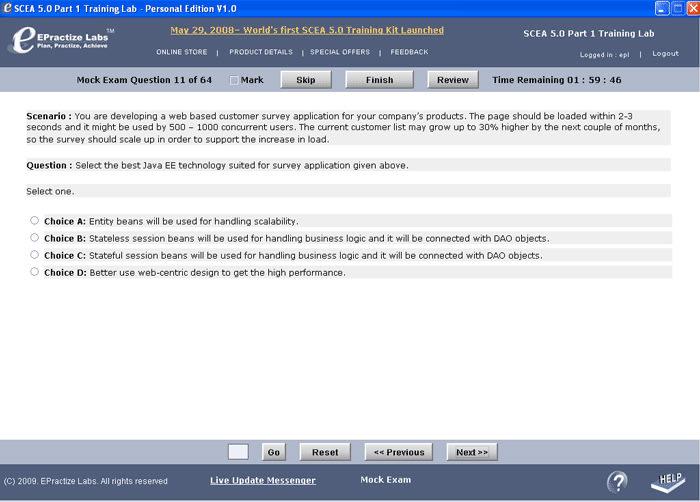 SCEA 5 Part 1 Certification Training Lab
