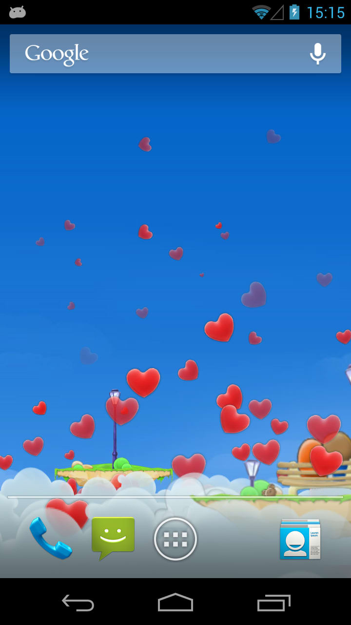 Love Wallpaper 3d Live : Love Hearts 3D Live Wallpaper for Android - Download