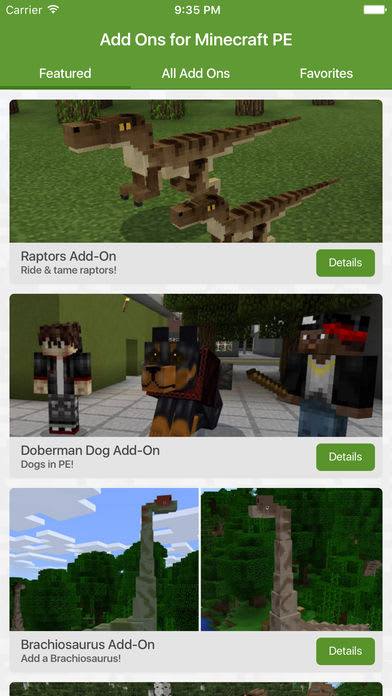 Add Ons for Minecraft PE (Minecraft Addons)