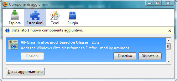 All-Glass Firefox