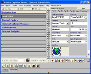Software Organizer Deluxe