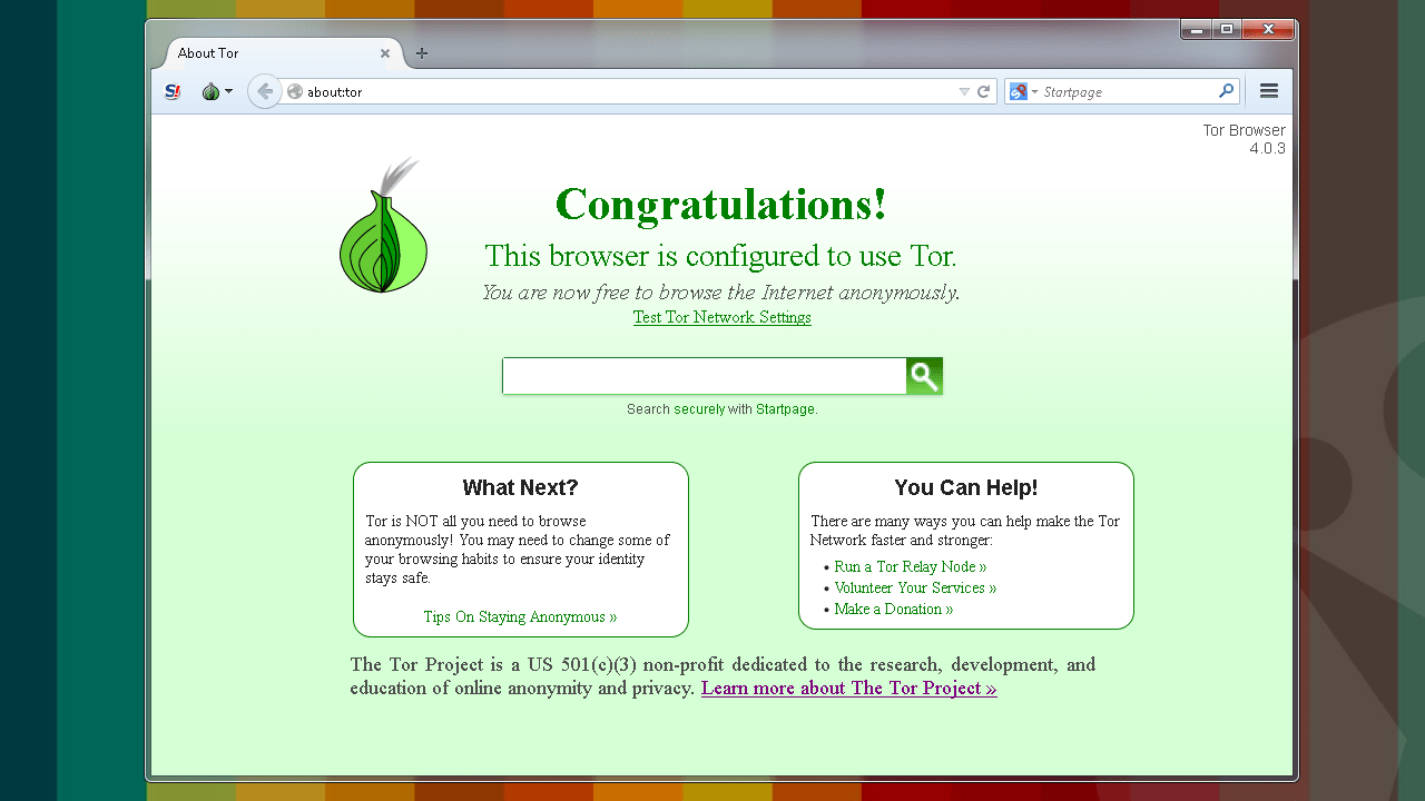 Tor Browser - Download