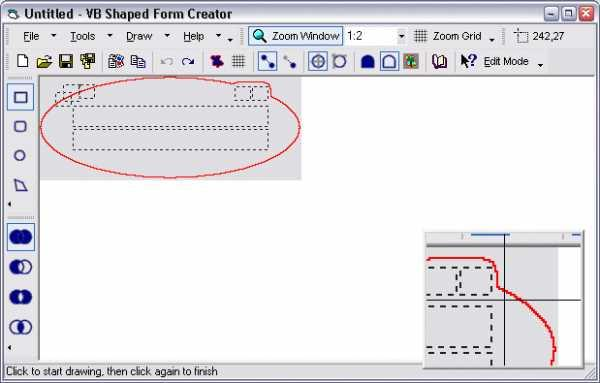 VB Shaped Form Creator
