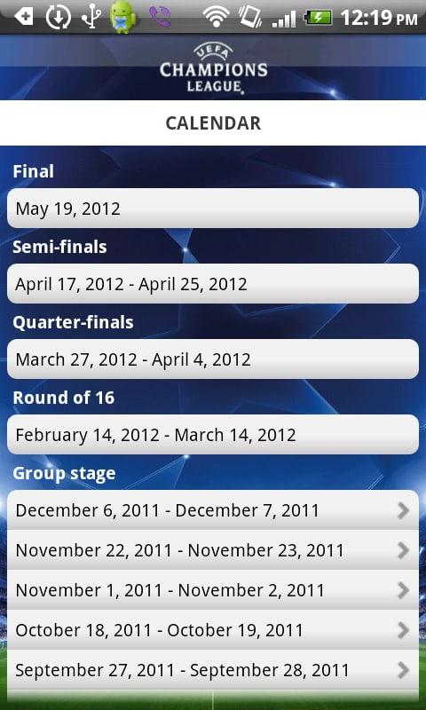 Edição UEFA Champions League