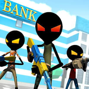 Bank Robbery Royale  Battle Simulator