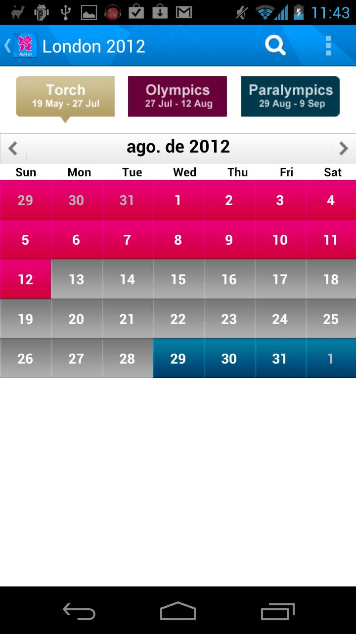 London 2012 Join In App
