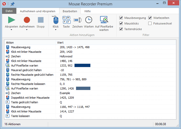 Mouse Recorder Premium
