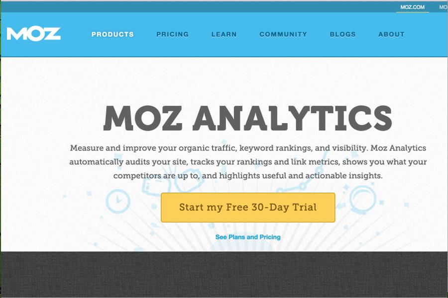 Moz Analytics