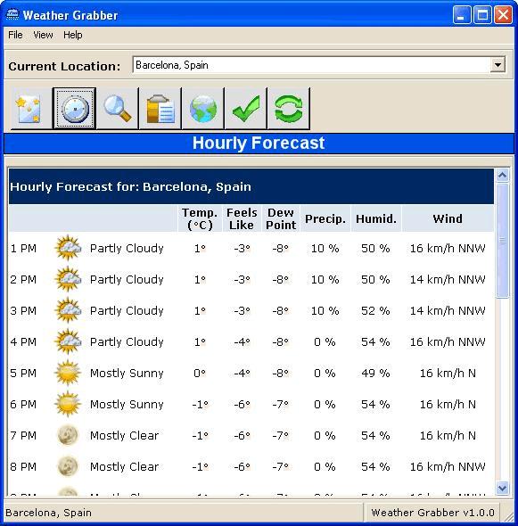Weather Grabber