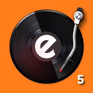 edjing 5DJ turntable to mix and record music-radio 5.1.4.0