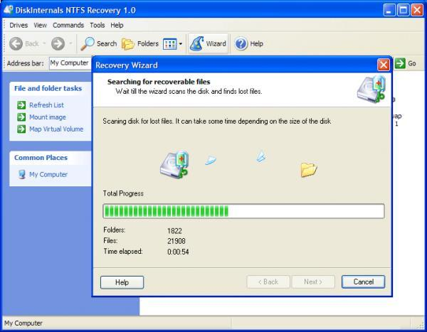 DiskInternals NTFS Reader