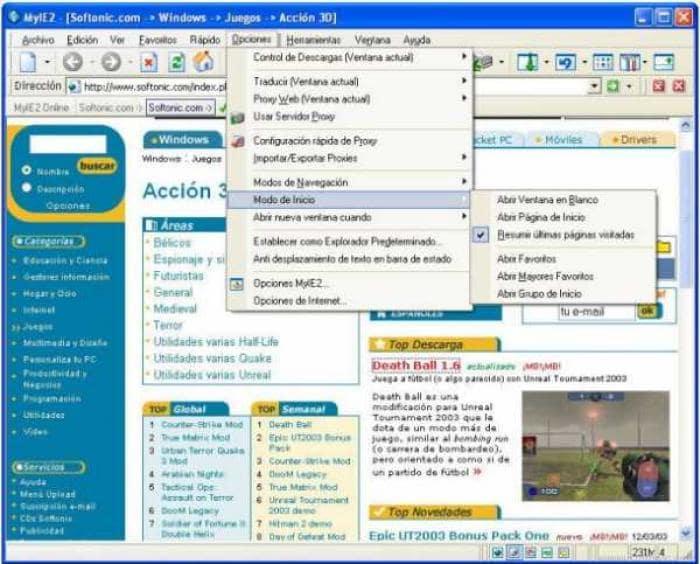 Maxthon Spanish Language Pack