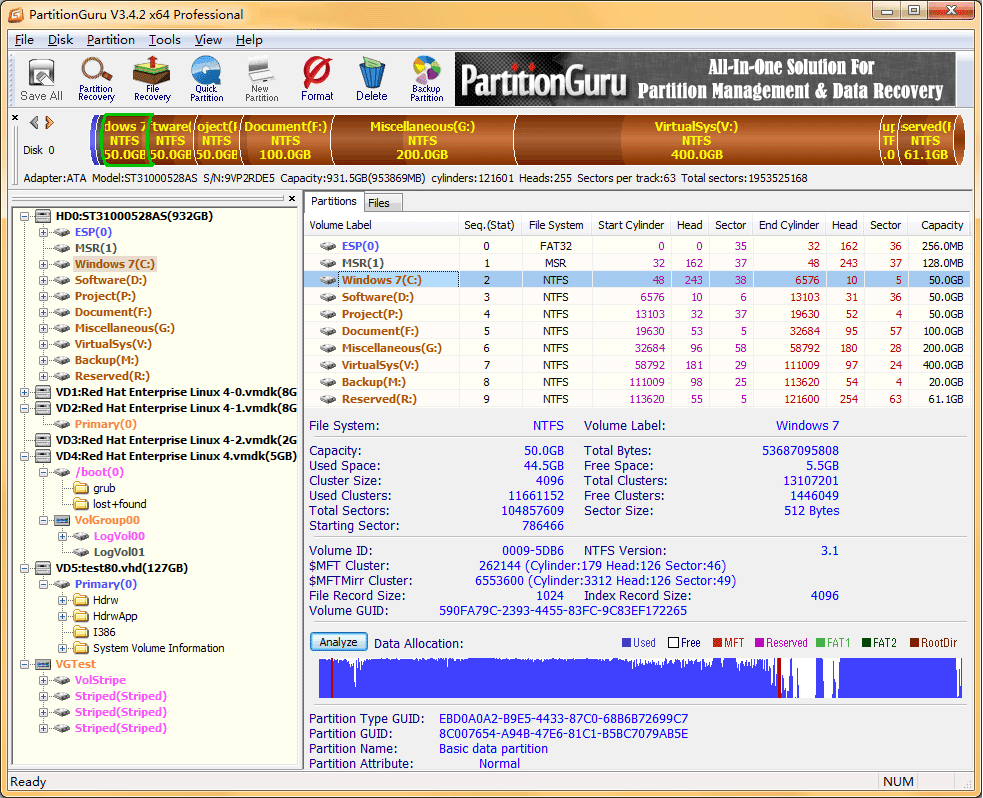 PartitionGuru Pro
