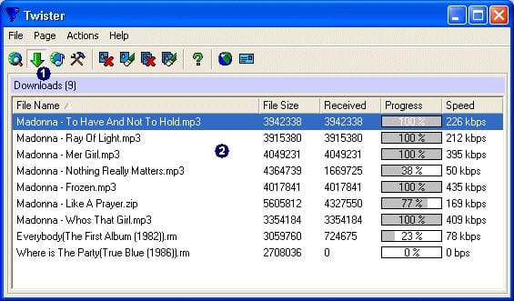 Twister MP3