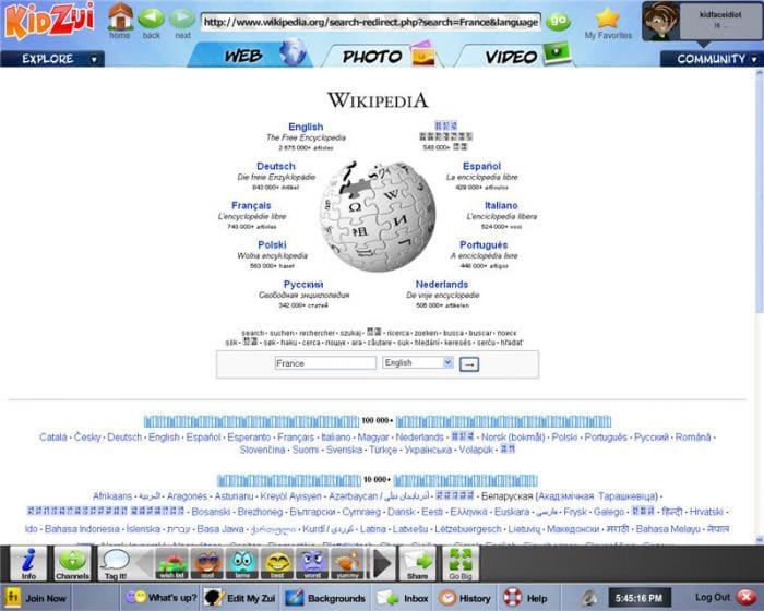 Kidzui Firefox Add-on