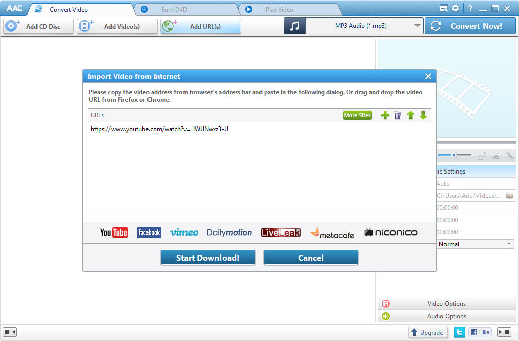 Any Audio Converter for Windows - Download