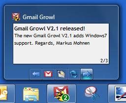 Gmail Growl