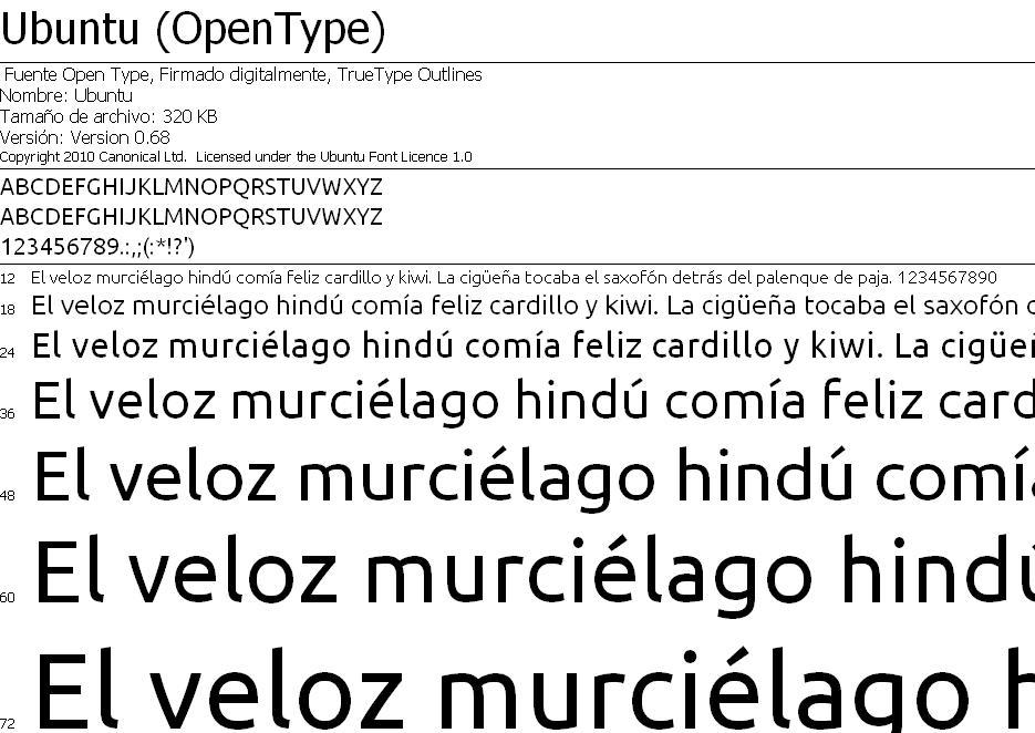 Ubuntu Font Family