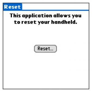 Michau's Reset Tool