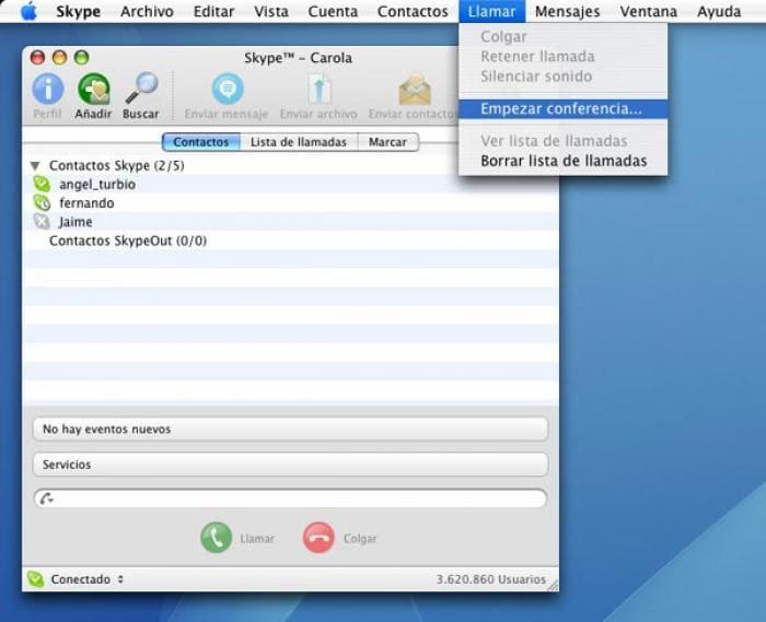 Localización española de Skype