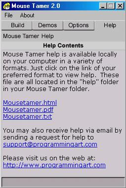 Mouse Tamer