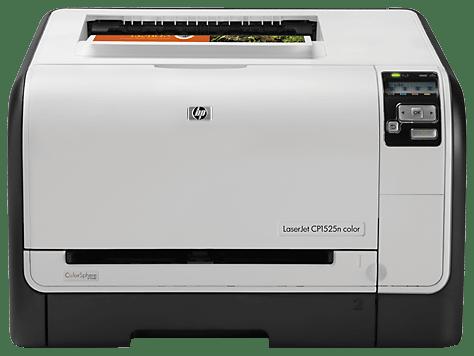 HP LaserJet Pro CP1525n Color Printer drivers