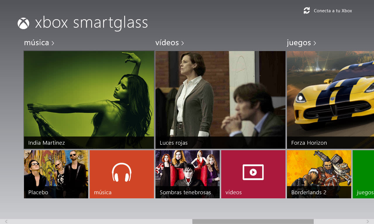 Xbox SmartGlass para Windows 10