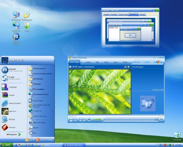 Windows Media Player 10 Visual Style