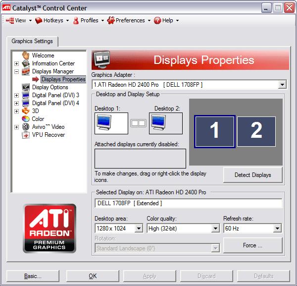 Драйвера ATI для Windows 7