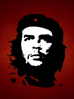 Abstract Che Guevara