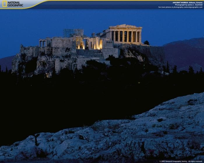 National Geographic Ancient World Screensaver