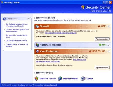 Service Pack 2 para Windows XP