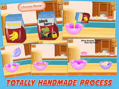 Ice Cream Maker - Juegos para