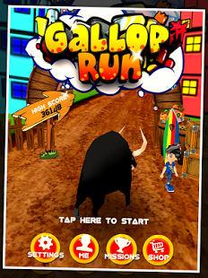Galope Run - libre de juego de
