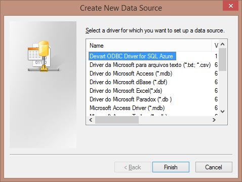 SQL Azure ODBC driver