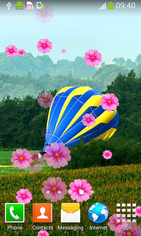 Air Balloon Live Wallpapers